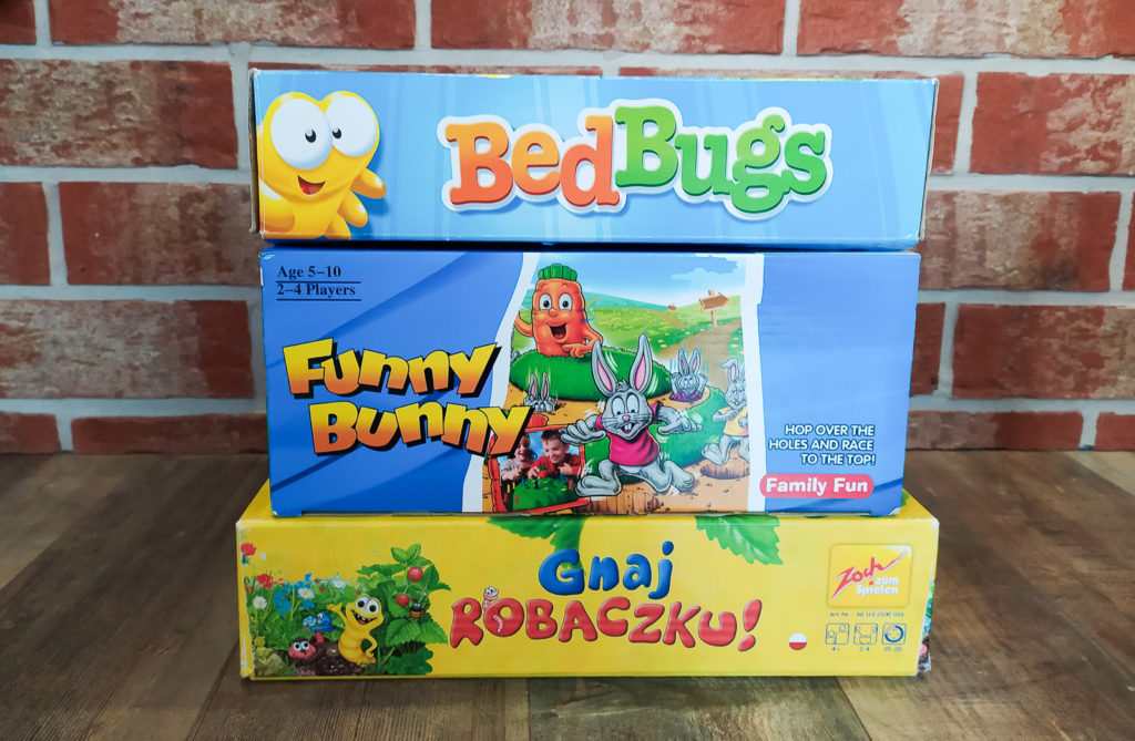 gnaj robaczku bed bugs funny bunny
