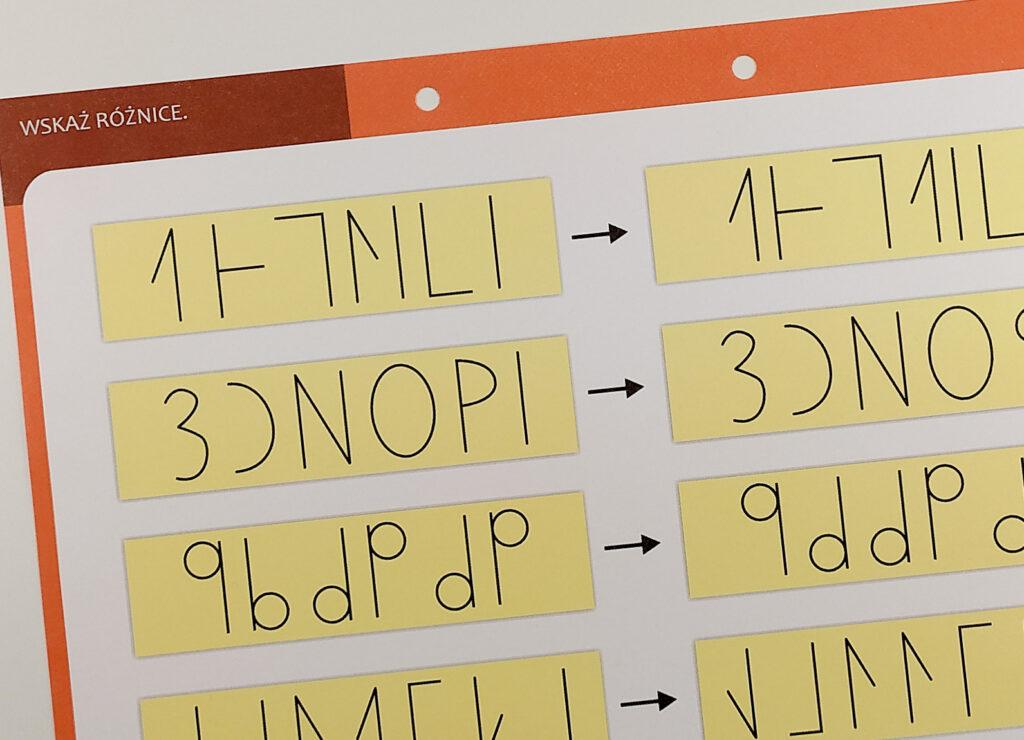 dysleksja cwiczenia funkcji poznawczych dla dzieci zagrozonych dysleksja agnieszka bala 27