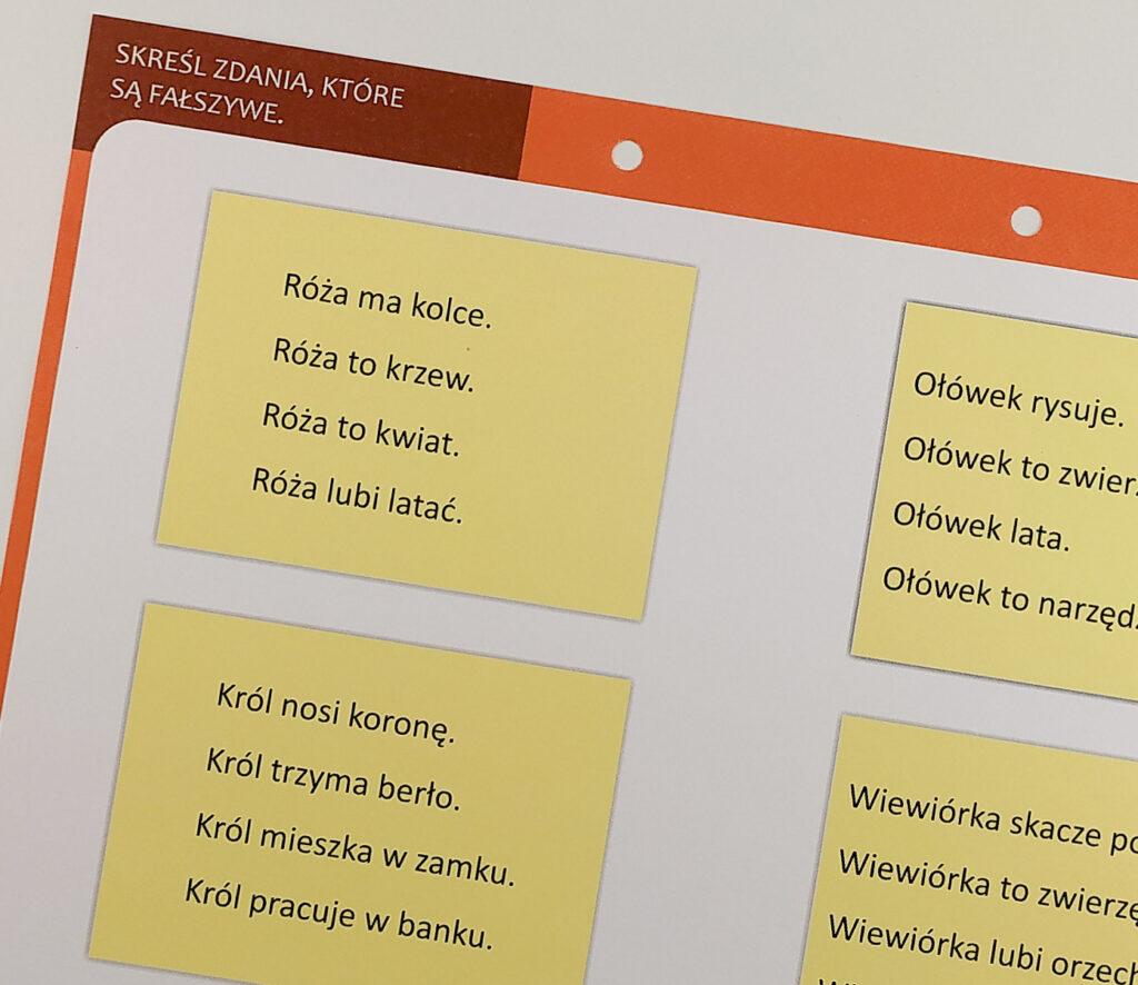 dysleksja cwiczenia funkcji poznawczych dla dzieci zagrozonych dysleksja agnieszka bala 31