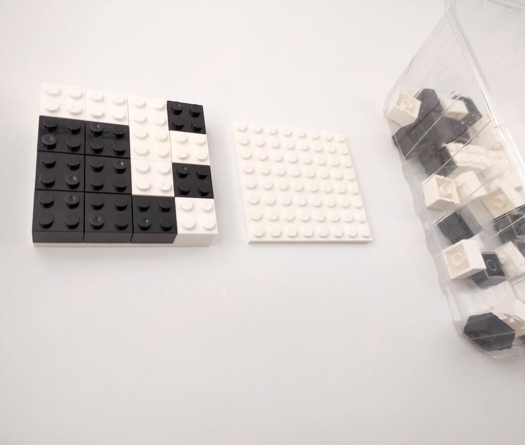 ukladanki lewopolkulowe klocki lego 2