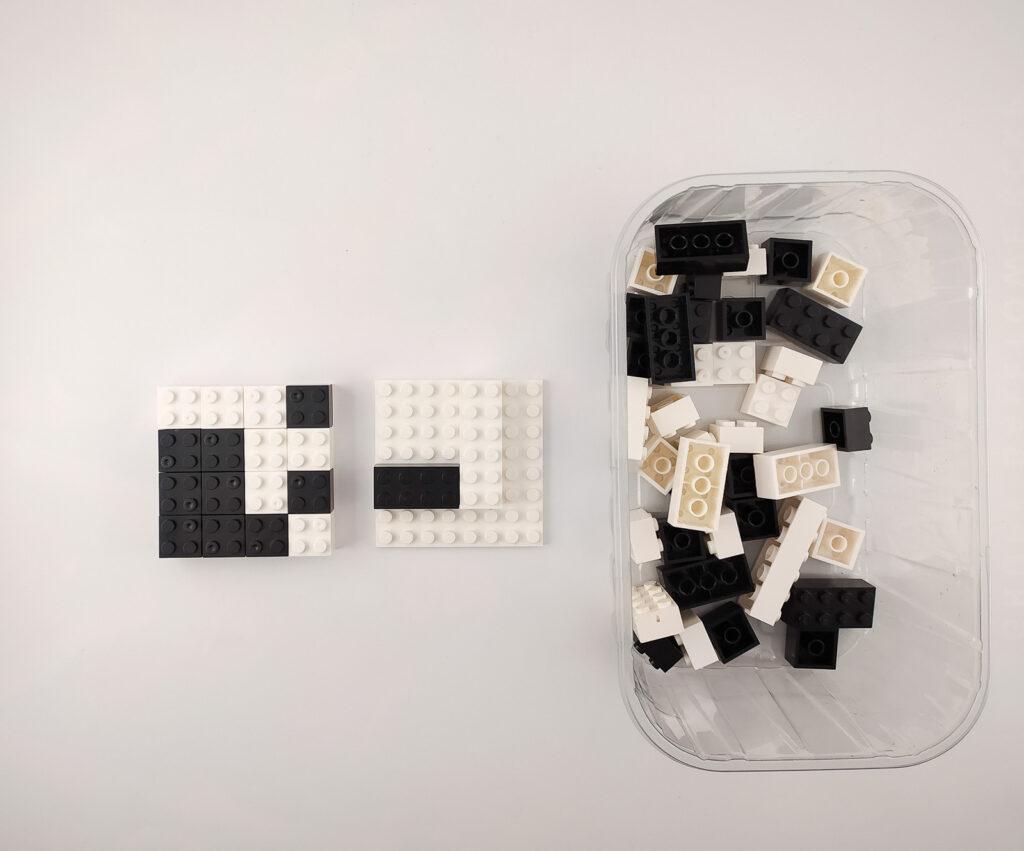 ukladanki lewopolkulowe klocki lego 3