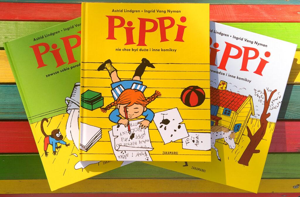 pippi nie chce byc duza i inne komiksy 1
