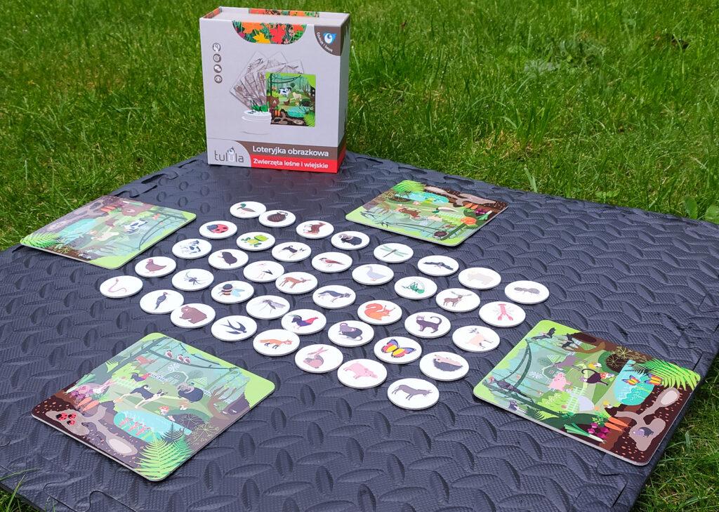 loteryjka zwierzeta lesne i wiejskie 12