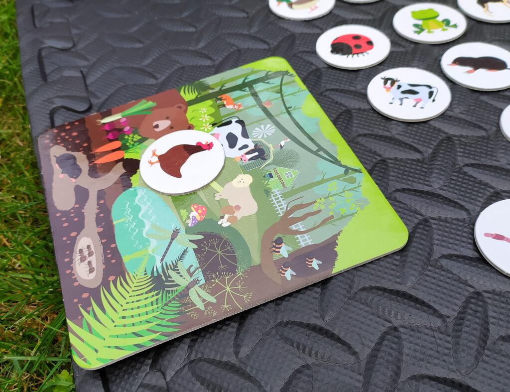 loteryjka zwierzeta lesne i wiejskie 13