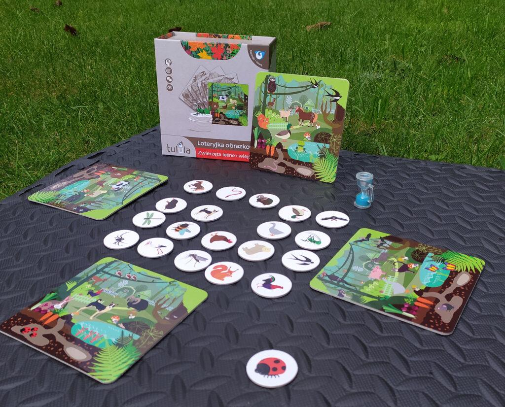 loteryjka zwierzeta lesne i wiejskie 17
