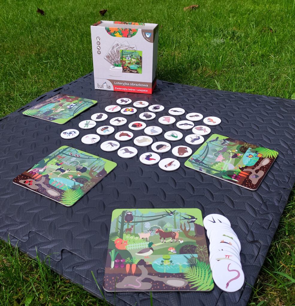 loteryjka zwierzeta lesne i wiejskie 19