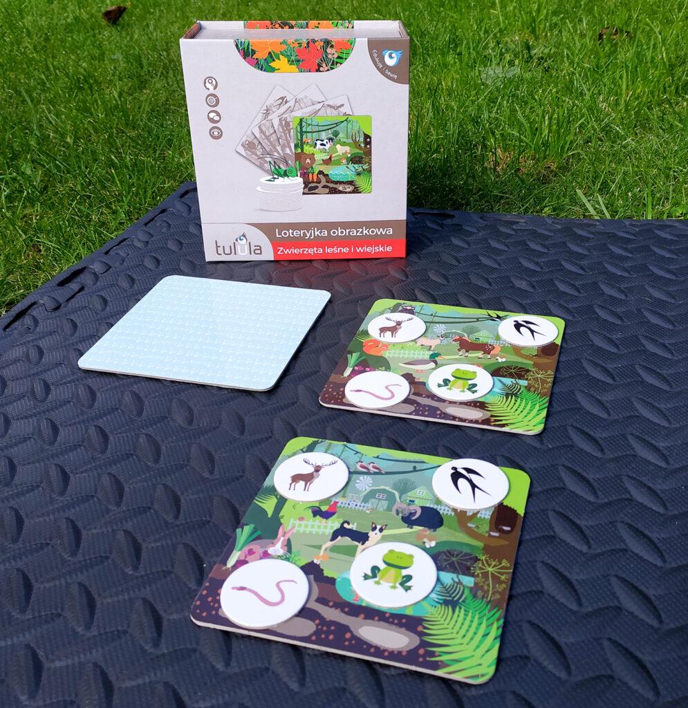 loteryjka zwierzeta lesne i wiejskie 24