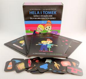"""""""Hela i Tomek"""" – aktywizująca seria książeczek dla dzieci z opóźnionym rozwojem mowy"""
