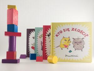 """""""Niewielka książka o wielkich emocjach"""" dla najmłodszych – Stina Wirsén"""