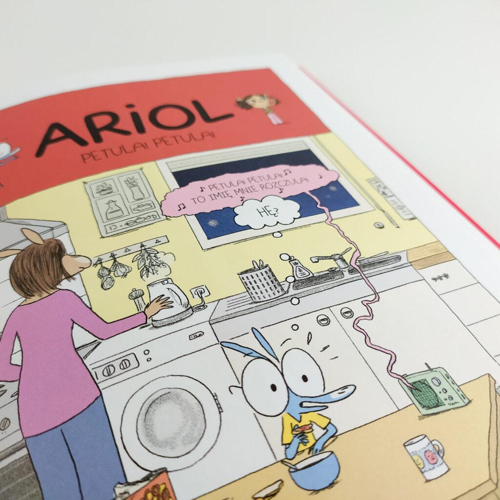 komiksy ariol 13