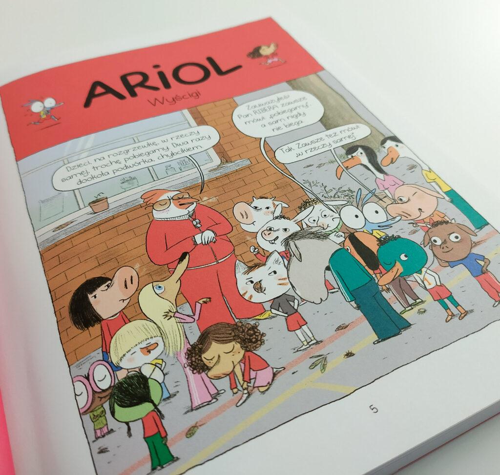komiksy ariol 17