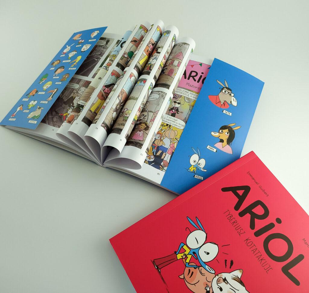 komiksy ariol 4