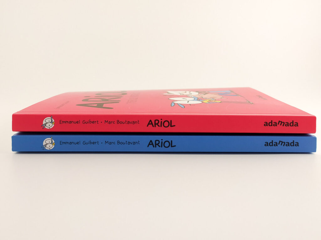 komiksy ariol 45