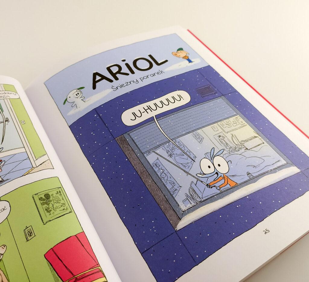 komiksy ariol 7