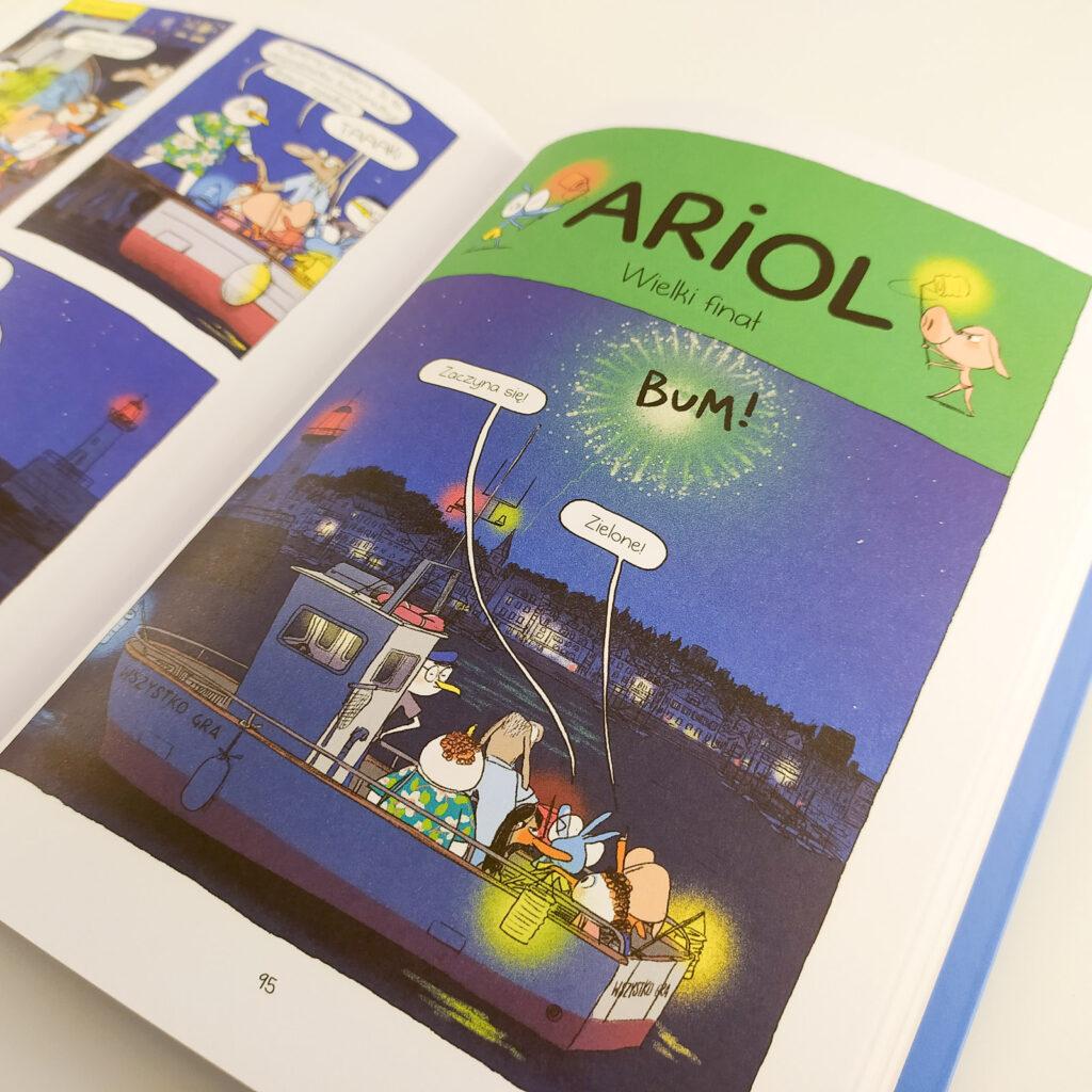 komiksy ariol 8