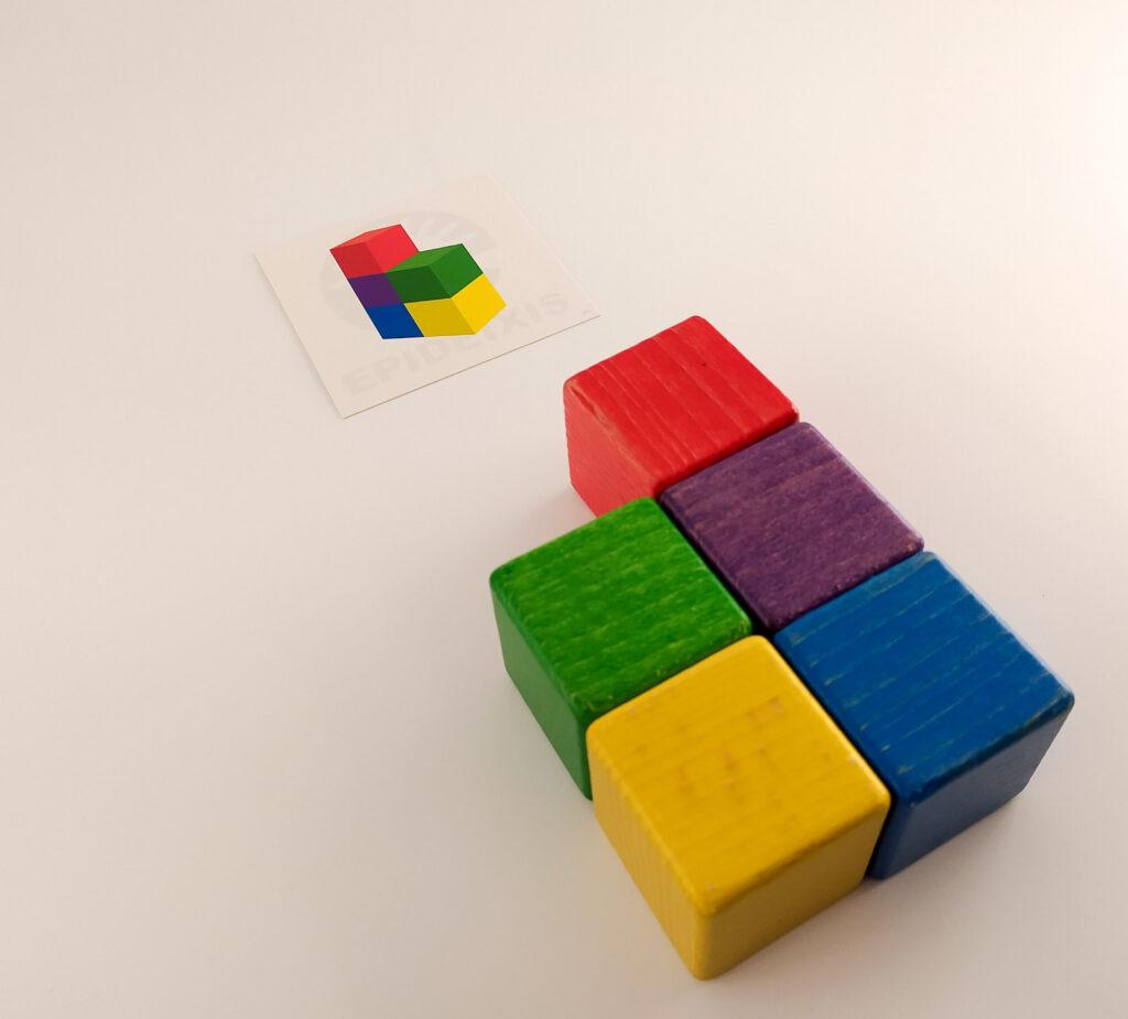 kubik gra logiczna 10