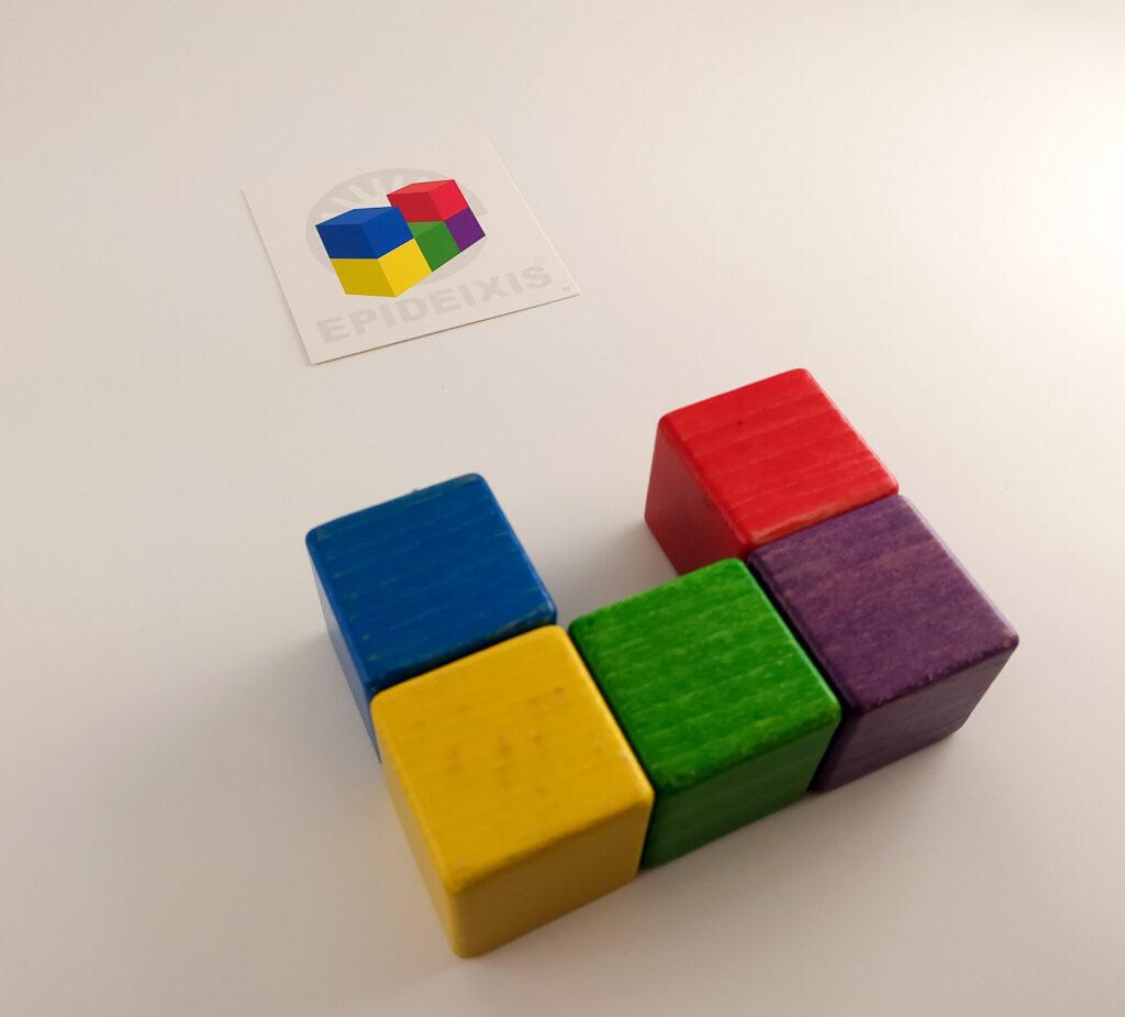 kubik gra logiczna 8