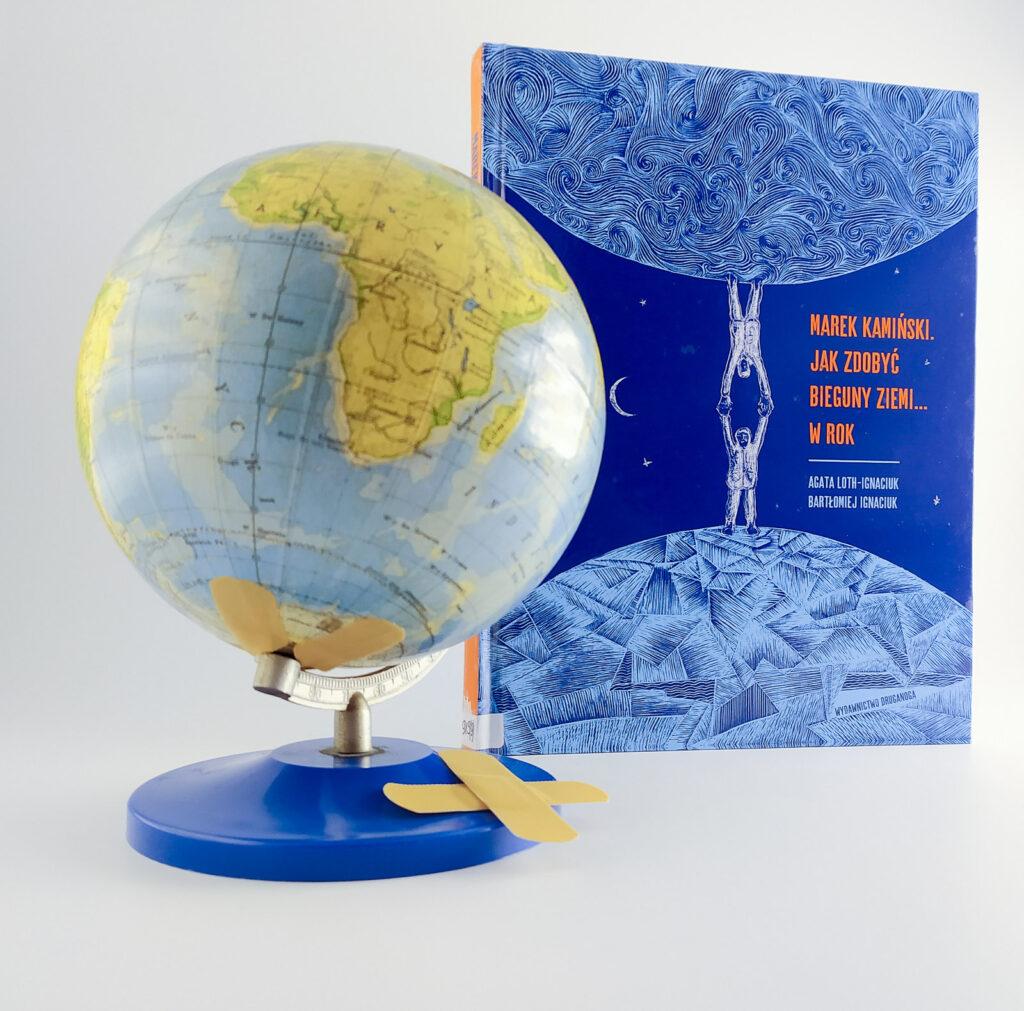 marek kaminski jak zdobyc biegun ziemi w rok 1