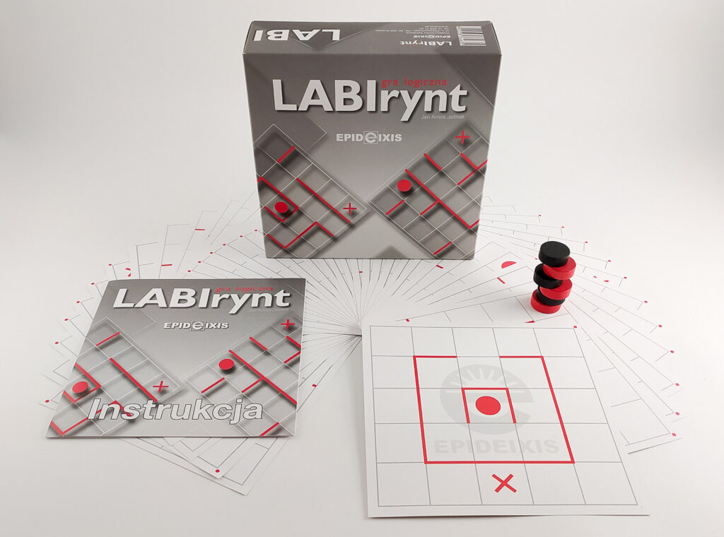 labirynt gra logiczna dla dzieci 3