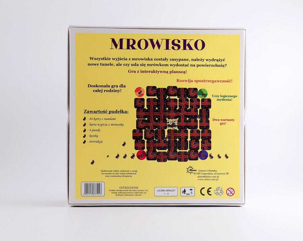 mrowisko gra planszowa abino 32