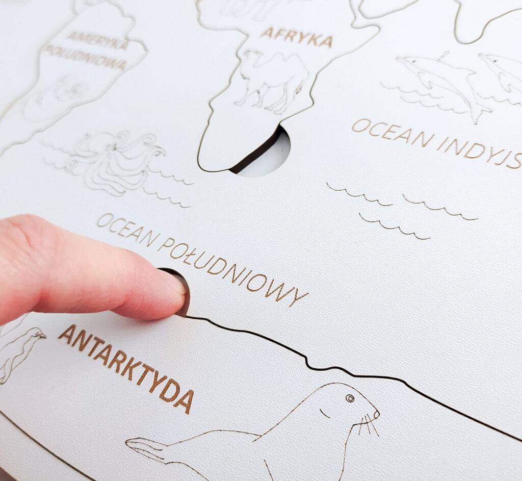 mapa polski ukladanka 34