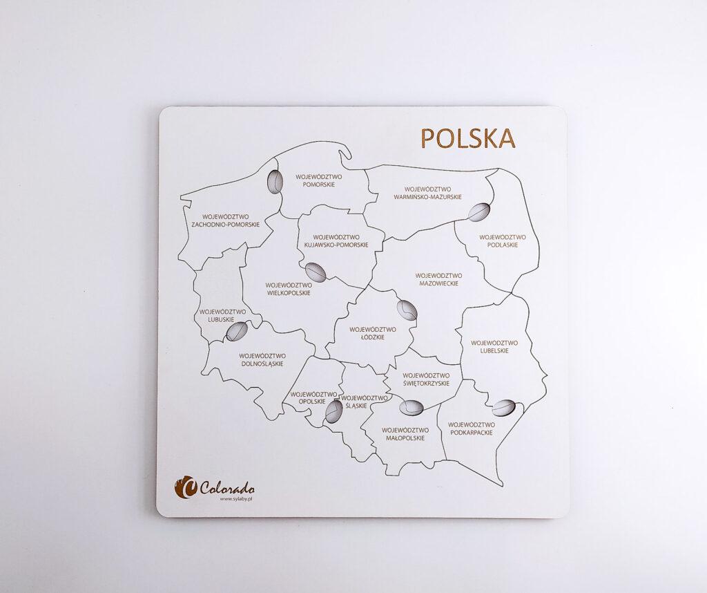 mapa polski ukladanka 35