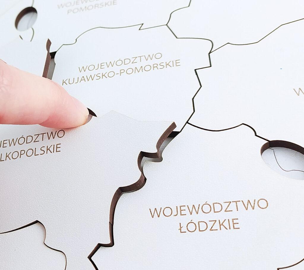mapa polski ukladanka 42