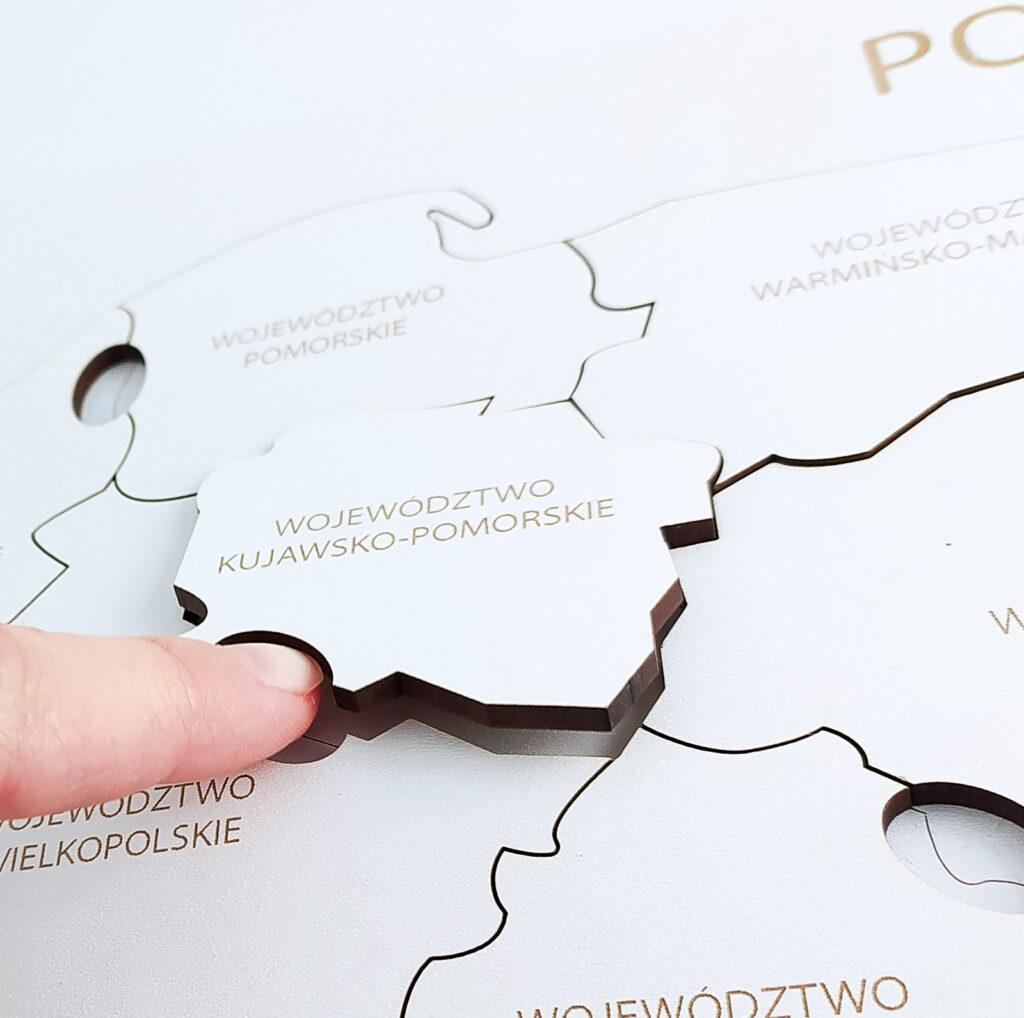 mapa polski ukladanka 43