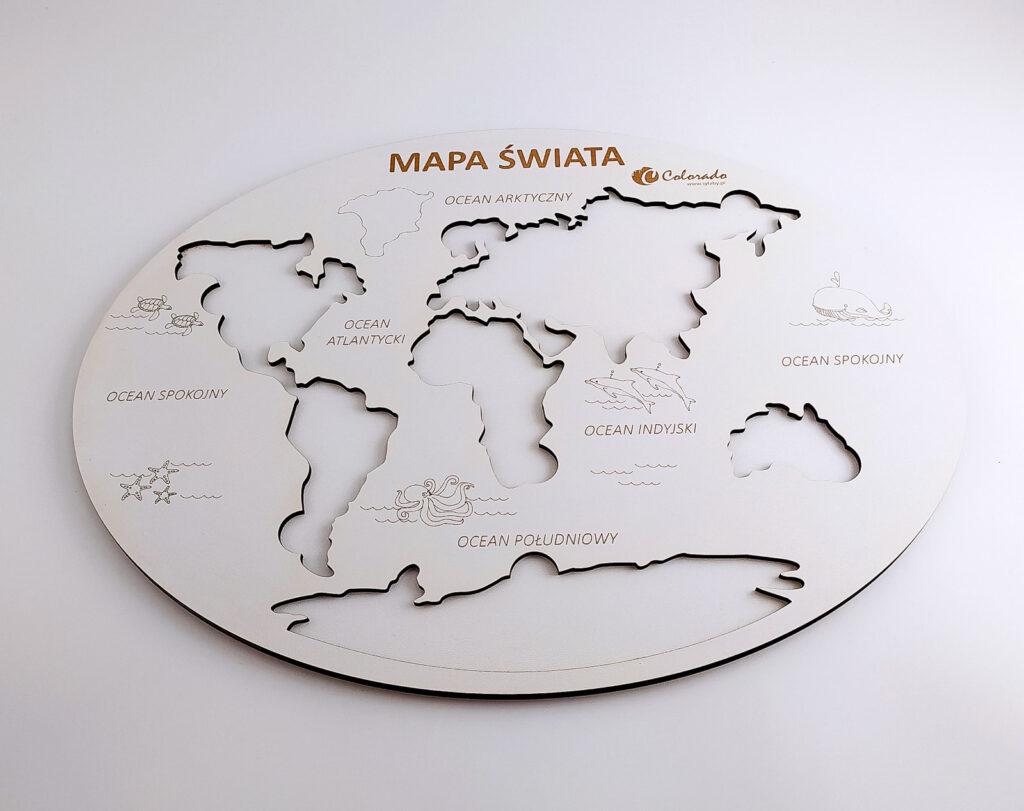 mapa swiata ukladanka 22
