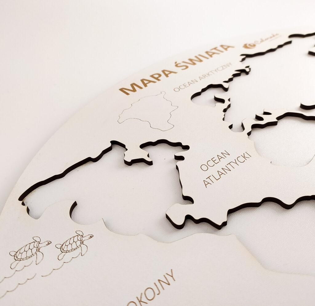 mapa swiata ukladanka 9