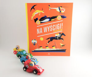 """""""Na wyścigi!"""" – przyspieszający tempo czytania wielkoformatowy picturebook dla dzieci (i nie tylko)"""
