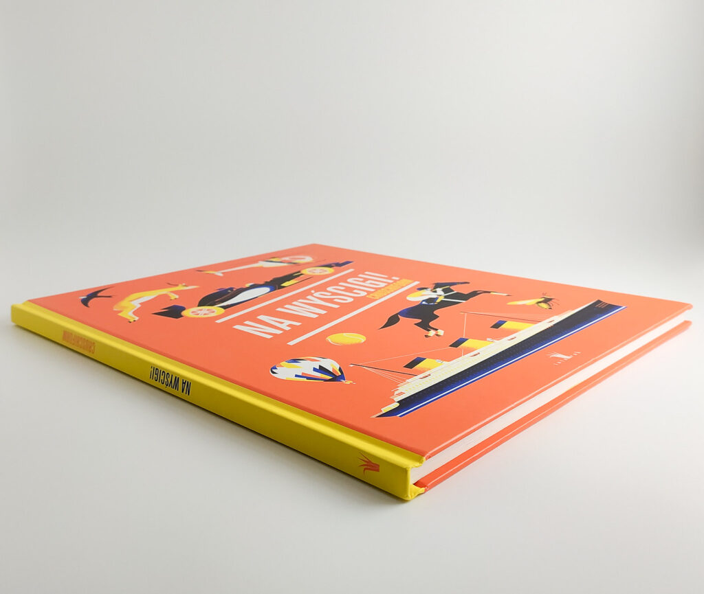 na wyscigi ksiazka picturebook 4