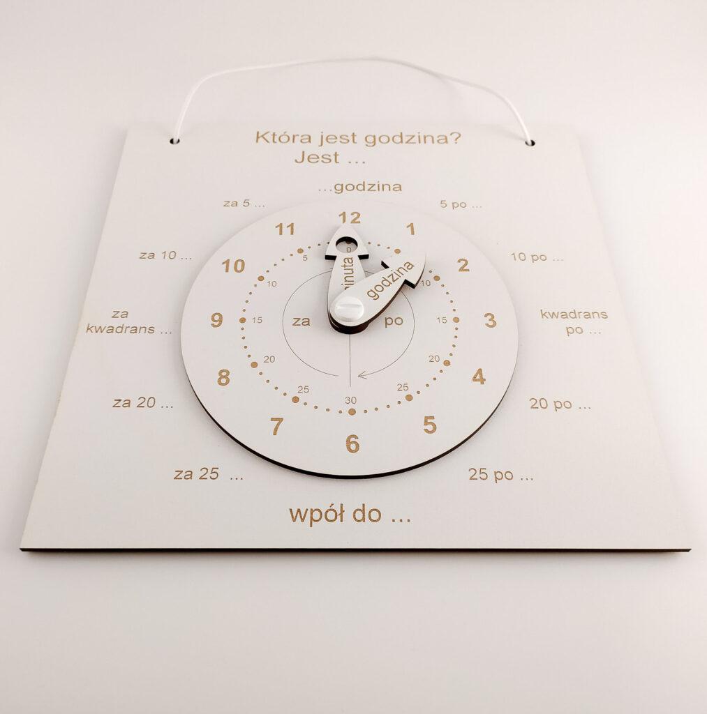 zegar do nauki czas dla dzieci 1
