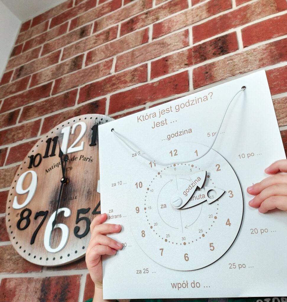 zegar do nauki czas dla dzieci 11