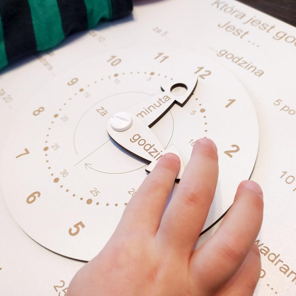 zegar do nauki czas dla dzieci 3