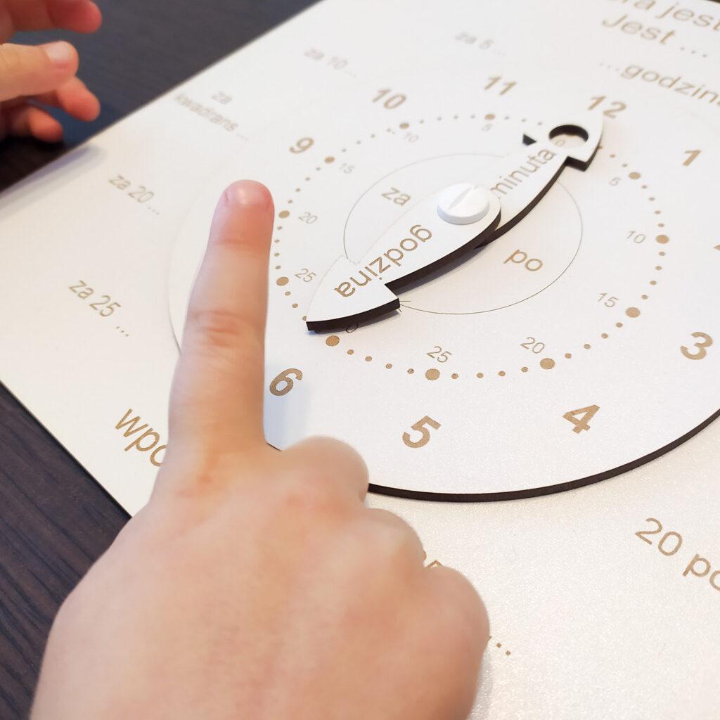 zegar do nauki czas dla dzieci 4