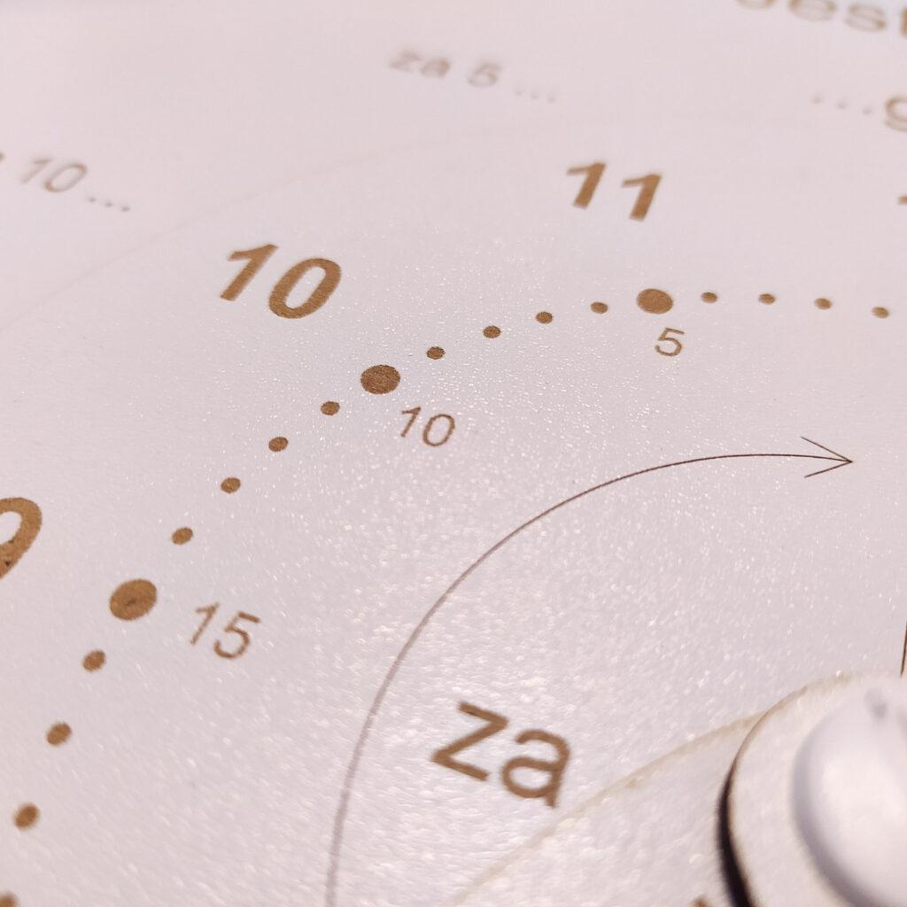 zegar do nauki czas dla dzieci 9