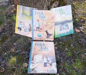 """""""Felek i Tola"""" dla najmłodszych – zupełnie nowe przygody lisa łakomczucha i roztropnej zajączki"""