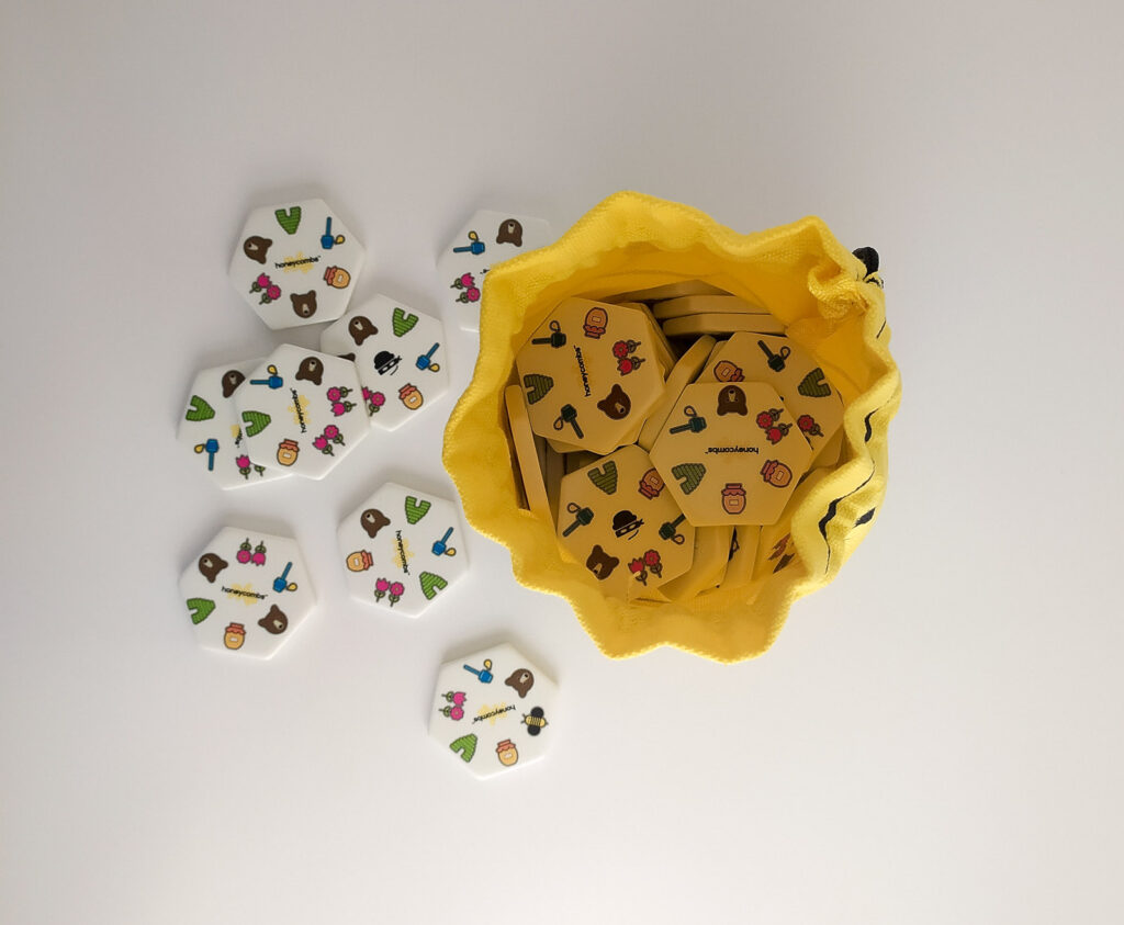 honeycombs plastry miodu gra piatnik 2