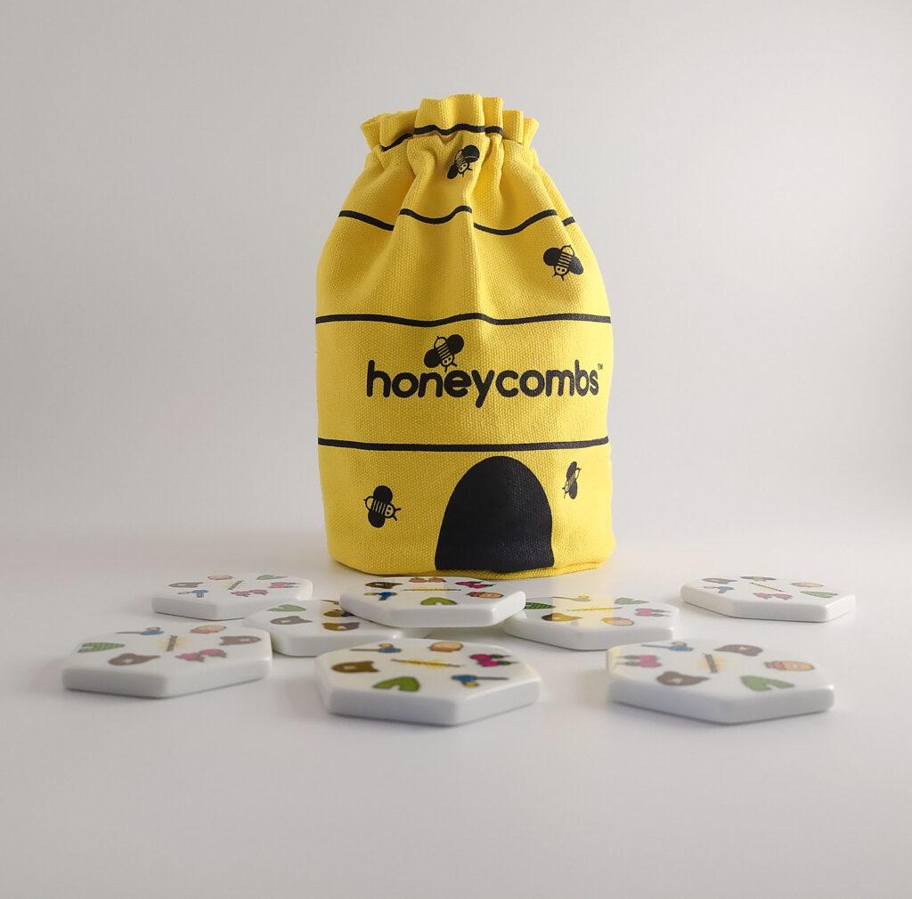 honeycombs plastry miodu gra piatnik 3
