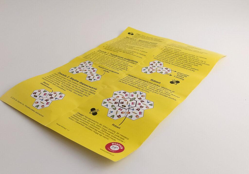 honeycombs plastry miodu gra piatnik 5
