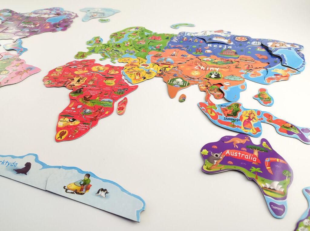 ukladam swiat atlas z puzzlami magnetycznymi 7 1