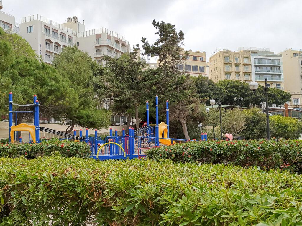 place zabaw malta sliema independence garden 7