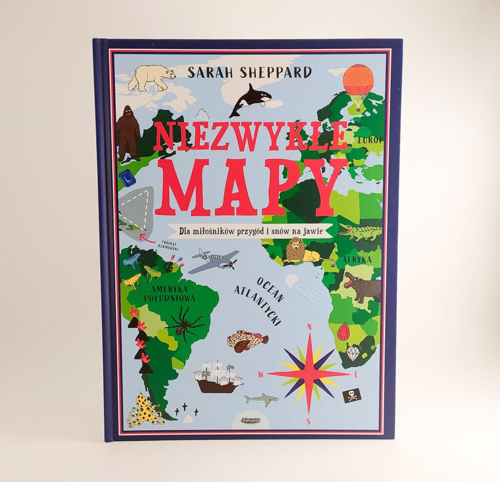 niezwykle mapy sarah seppard 1