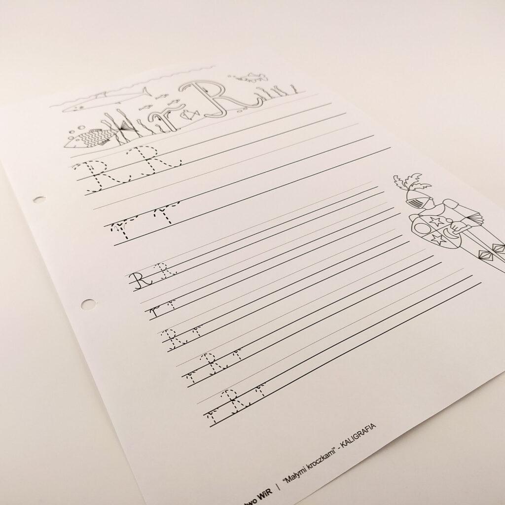 kaligrafia cwiczenia 2