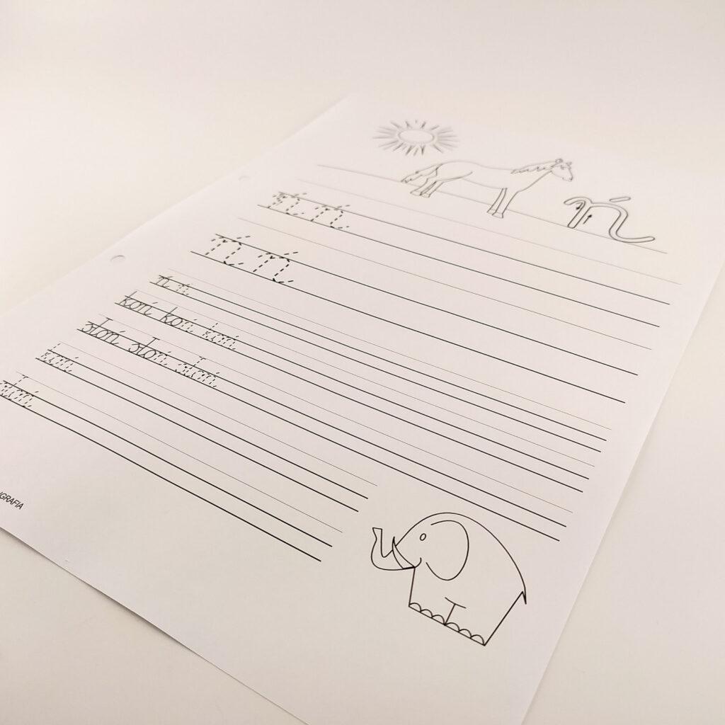 kaligrafia cwiczenia 3