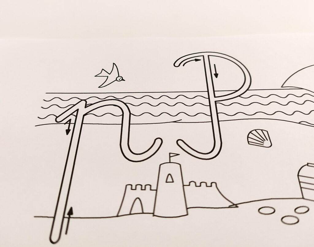 kaligrafia cwiczenia 4