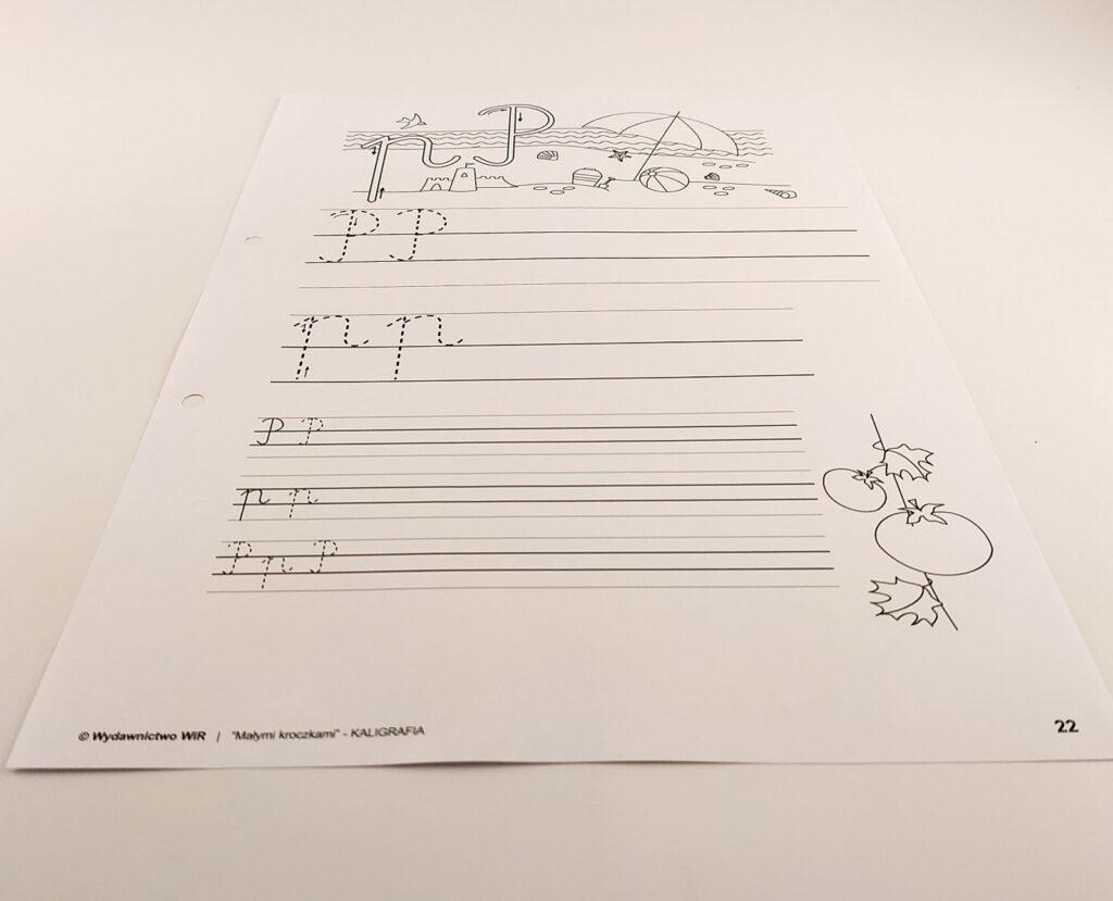 kaligrafia cwiczenia 5