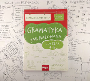 """Czy gramatyka w szkole podstawowej może być ciekawa? Z zestawem """"Gramatyka jak malowana"""" tak!"""