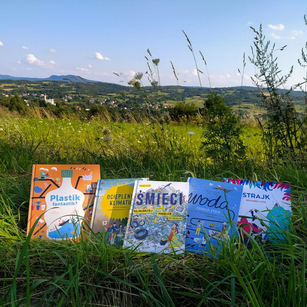 ksiazki dla dzieci o ekologii klimacie i przyrodzie